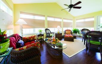 retirement home sunroom