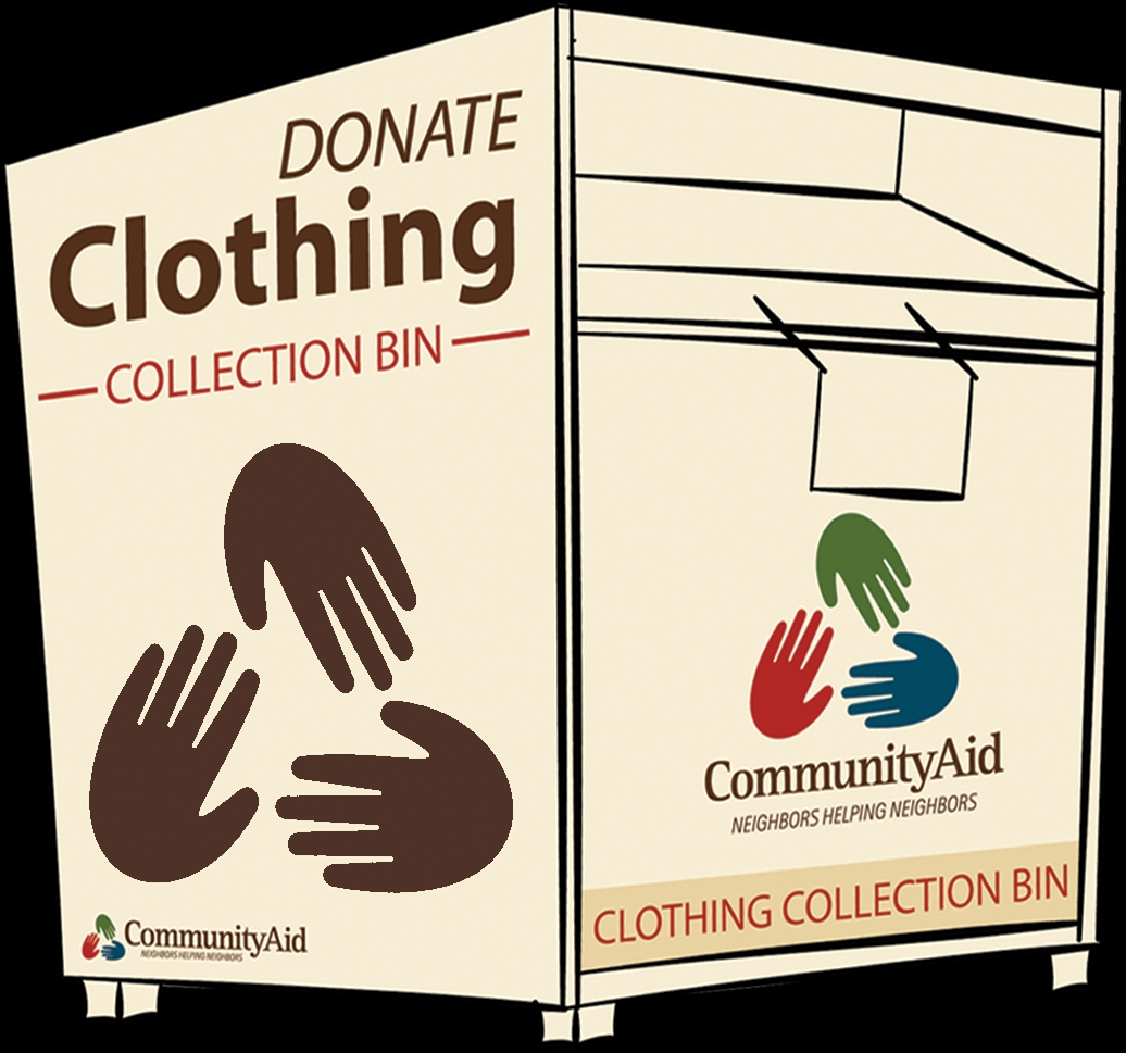 community aid clothing donation