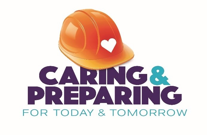 Caring hard hat