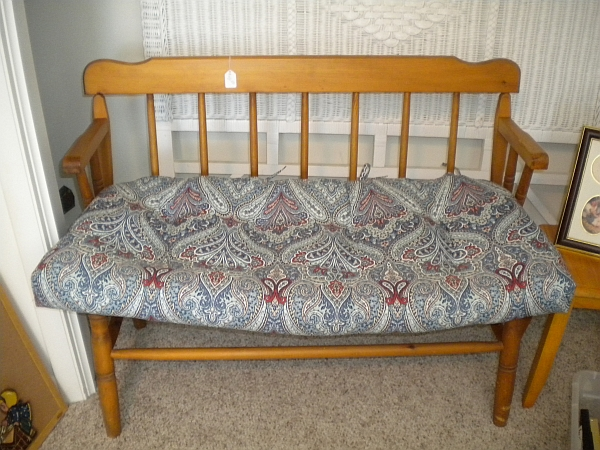 Second-hand ornate couch for sale