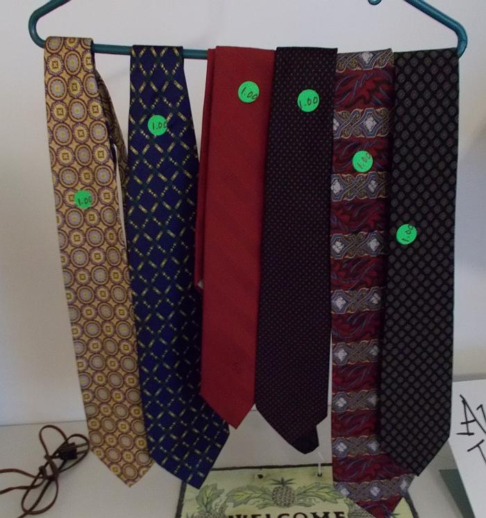 Various ties for sale