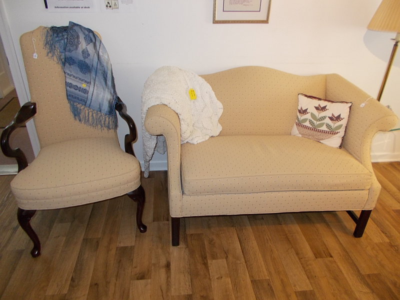Arm Chair and matching love seat