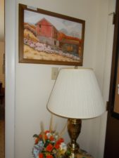 art and lamp